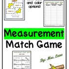Measurement Match Game (Great Center or Workstation!)