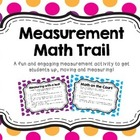 Measurement Math Trail Activity