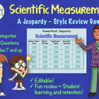 Measurement / Metric Jeopardy Game