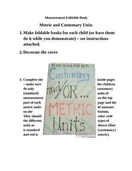 Measurement: Metric and Customary