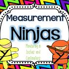 Measurement Ninjas-Measuring in Inches and Centimeters
