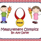 Measurement Olympics {Length & Time Task}
