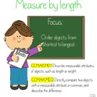 Measurement - Order from Shortest to Longest Common Core A