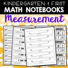 Measurement Printables for K-1 Math Journals