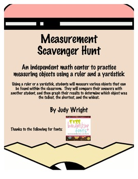 Measurement Scavenger Hunt: An Independent Math Center