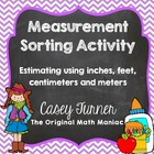 Measurement Sorting Activity