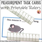 Measurement Task Cards for mm and cm