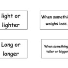 Measurement Vocab Cards 