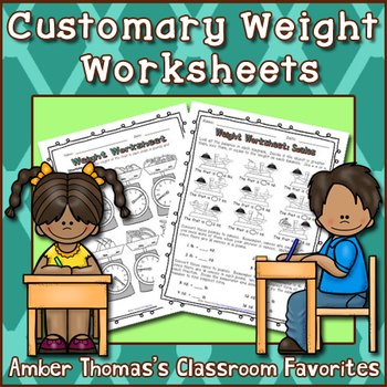 Measurement:  Weight Worksheet