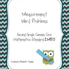 Measurement Word Problems (CCS 2nd grade aligned)