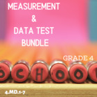 Measurement and Data Assessments Packet - Grade 4