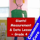 Measurement and Estimating Math Giant Project - 4th Grade