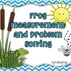 Measurement and Problem Solving with Frog and Toad by Arno