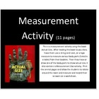 Measurement booklet activity