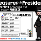 Measurement with the President Freebies