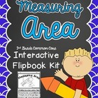 Measuring Area Interactive Flipbook- Common Core 3rd Grade