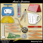 Measuring Tools Clipart Pack