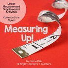 Measuring Up!- Linear Measurement Centers and Craftivity (