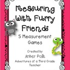 Measuring with Furry Friends Game Pack