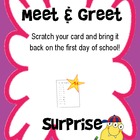 Meet & Greet Scratch offs