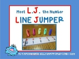 Meet L.J. the Number LINE JUMPER FREEBIE