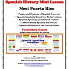 Meet Puerto Rico: Hispanic Heritage Vocabulary Games