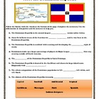 Meet The Dominican Republic: Vocabulary Games