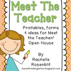 Meet The Teacher Madness {Editable Packet}
