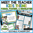 Meet the Teacher Forms  (Editable)