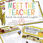 Meet the Teacher {Forms and Materials}