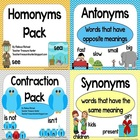 Mega Language Arts Pack!  homonyms, contractions, synonyms