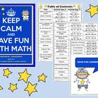 Mega Math Bundle - Games, Activities, Stations, & More!