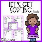 Mega Sort Bundle {Numbers 1-10, 10-20, and Letters}