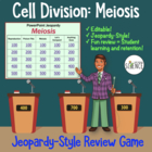 Meiosis Jeopardy Review Game (Powerpoint Jeopardy)