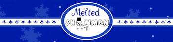 """Melted Snowman"" Waterbottle Labels"