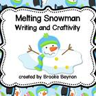 Melting Snowman - Writing and Craft Pack