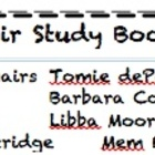 Memoir Study Book List