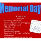 Memorial Day (10 pages)