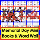 Memorial Day Emergent Readers - 2 Reading Levels - 3 Versi