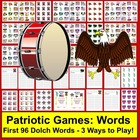 Memorial Day Literacy Centers:  Sight Words Activities - S