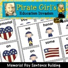 Memorial Day Sentence Building Activity