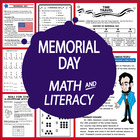 Memorial Day Unit-Common Core Standards