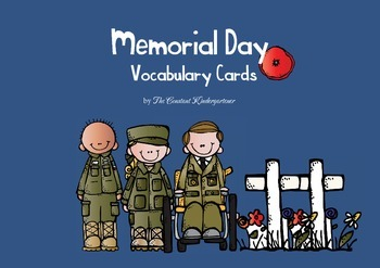 Memorial Day Vocabulary Cards {Weekend Links} from HowToHomeschoolMyChild.com