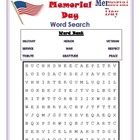 Memorial Day Word Search-pirmary