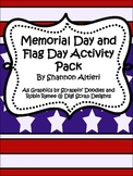 Memorial Day and Flag Day Mini Unit