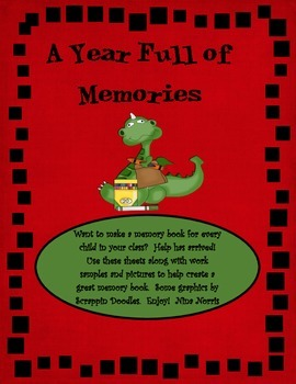 Memory Book - A Year Full of Memories