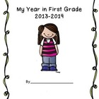 Memory Book for End of First Grade, Kindergarten, Second Grade