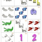 Memory Card Game 1-10 Aligned with Cscope K-1st Grade Engl