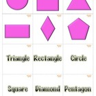 Memory Game 2 Dimensional Shapes Math Centers. Aligned wit