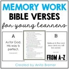 Memory Work: Bible Verses for Primary Students